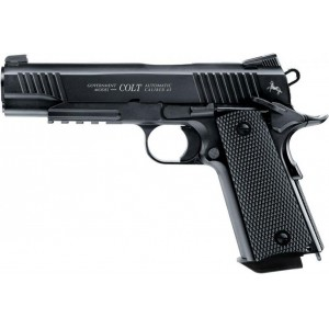 Colt Government M45 CQBP Havalı Tabanca Siyah 4,5mm
