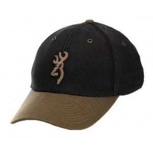 Browning Northfork Twill Black/Brn Şapka