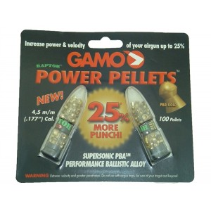Gamo Raptor Power Pellets 4.5mm Havalı Saçma