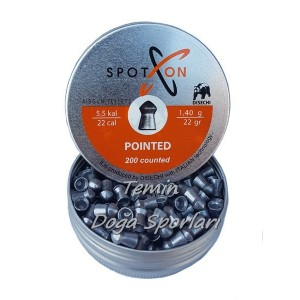 SpotOn 5.5mm Pointed 22 Grain Havalı Saçma