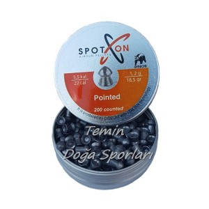 SpotOn 5.5mm Pointed 18.52 Grain Havalı Saçma