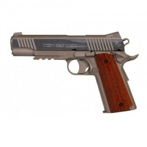 Cybergun Colt M45A1 Rail Nickel 6mm Airsoft Tabanca