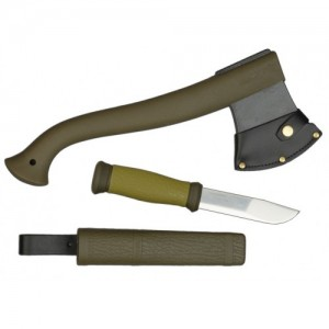 Morakniv MG Balta Ve Bıçak Outdoor Kiti