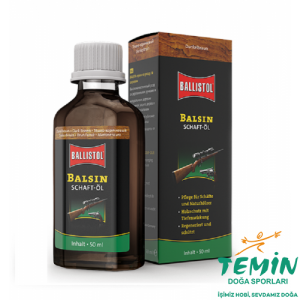 Ballistol Balsın Dark Brown 50ml Şaftöl