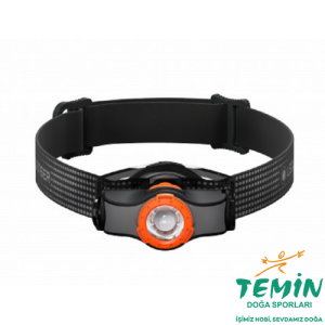 Led Lenser MH3 Black/Orange Kafa Feneri 200 Lümen