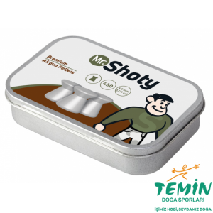 Mr. Shoty Premium Flat 4.5 mm Havalı Saçma