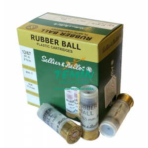 Sellier Bellot Rubber Ball Kauçuk Tek Kurşun